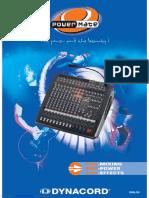 Powermate Powered Mixer