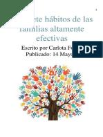 eBook-los 7 Habitos Para Las Familiasg. . .