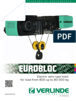 VT - Electric Wire Rope Hoist