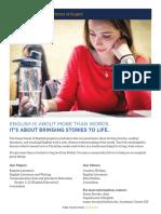 English Department Majors Booklet