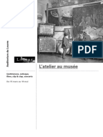 Louvre Programme Detaille de La Thematique Atelierateliers