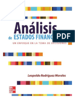 Analisis de Estados Financieros - Leopoldo Rodriguez Morales