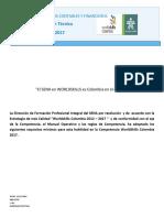 Wsc Dt Procesos Contables y Financieros 2016 y 2017