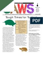Jan 2001 CAWS Newsletter Madison Audubon Society