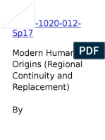human orgins modern 2