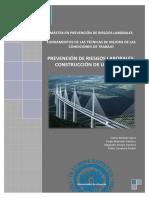 Prevención de Riesgos Laborales_ Construcción de Un Puente