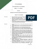 Peraturan Direksi No 08 Tahun 2017