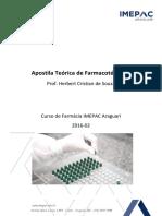 Apostila Prática - Farmacotécnica I - 2016-02