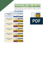 Tabela Perdas de Carga Menores e Maiores