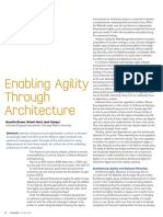 Enabling Agility Through Architecture