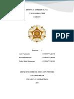 Cover - Proposal Kerja Praktek