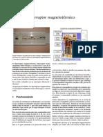 Interruptor magnetotérmico