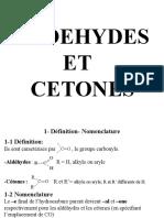 Aldehydes Ce Tones