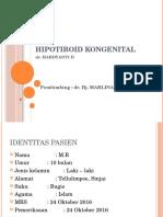 Hipotiroid Kongenital Fix
