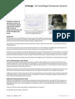 Surge Control Dynamic Simulation Centrifugal Comp