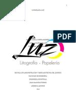 implementacion lean manufacturin en litografia