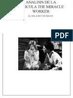 Analisis de La Pelicula the Miracle Worker