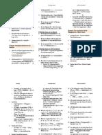 FinQuiz - CFA Level 3, June, 2017 - Formula Sheet