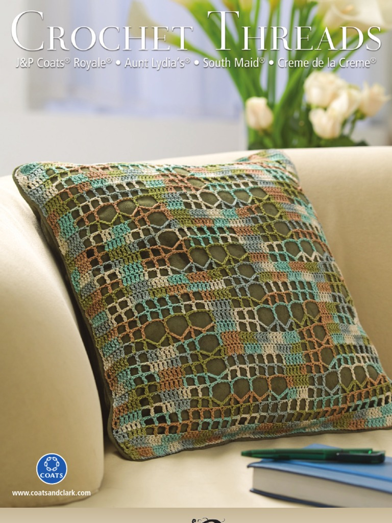 Crochet Threads By Jp Coats Royale Aunt Lydias South Maid And