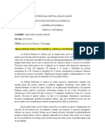I. Resumen Inicios de Ciencia y Tecnología
