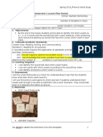 phonics lesson plan final draft