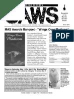Mar 2005 CAWS Newsletter Madison Audubon Society