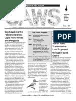Oct 2005 CAWS Newsletter Madison Audubon Society