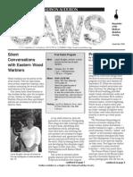 Nov 2005 CAWS Newsletter Madison Audubon Society