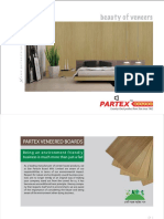Partex Veneered Boards Catalogue L