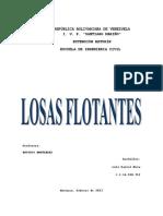 140804476 Losas Flotantes o Losas de Cimentacion