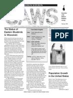 Feb 2006 CAWS Newsletter Madison Audubon Society