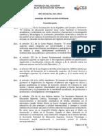 Reglamento Sobre Ttulos y Grados Acadmicos Obtenidos en Instituciones Extranjeras (1)
