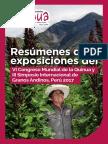 Resúmenes de Exposiciones Del VI Congreso Mundial de La Quinua y III Simposio Internacional de Granos Andinos, Perú 2017