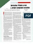 Fpso Fabrication Pitfalls