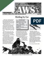 Oct 2006 CAWS Newsletter Madison Audubon Society