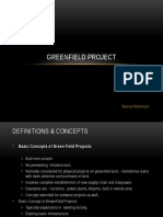Greenfield Project Lecture Slides Part 1