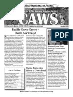 Dec 2006 CAWS Newsletter Madison Audubon Society