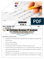 02-08-14 Sr.iplcO Jee Main (2013) PTM-1 Final Q'Paper