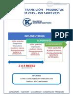 Modelo de Implementacion - Transicion