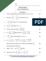 12 Mathematics Ch03 Matrices Test 05 Qp