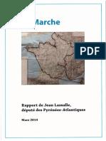 La Marche - Rapport de Jean Lassalle - 2014