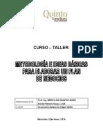 Metodologia e Ideas Para La Elaboracion de Planes de NegoDcio
