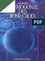 Cosmogonie Des Rose Croix