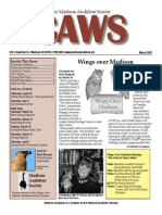 Mar 2007 CAWS Newsletter Madison Audubon Society