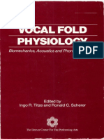 Vocal Fold Fhysiology - Ingo Titze