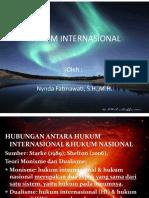 Handout Hukum Internasional 3 Hubungan Antara Hukum Internasional Hukum Nasional