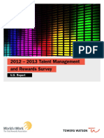 TowersWatson US Report TMR Survey NA 2012