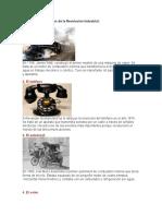 Conoce Cinco Inventos de La Revolución Industrial