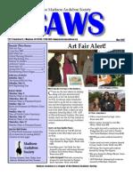 May 2007 CAWS Newsletter Madison Audubon Society