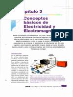 CAP 3 CONCEPTOS BÁSICOS DE ELECTRICIDAD Y ELECTROMAGNETISMO.pdf
